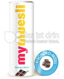 Produktabbildung: mymuesli Schoko-Müsli 575 g