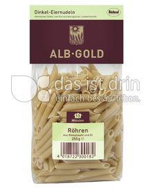 Produktabbildung: ALB-GOLD Bio Dinkel Röhren 250 g