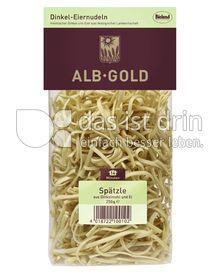 Produktabbildung: ALB-GOLD Bio Dinkel Spätzle 250 g