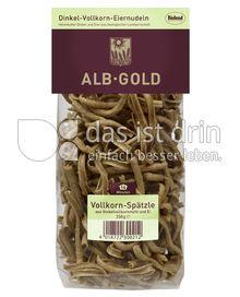 Produktabbildung: ALB-GOLD Bio Dinkel Vollkorn-Spätzle 250 g