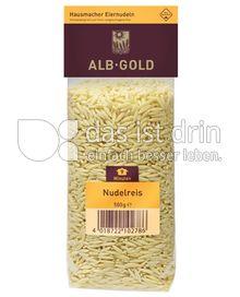 Produktabbildung: ALB-GOLD Hausmacher Eiernudeln Nudelreis 500 g