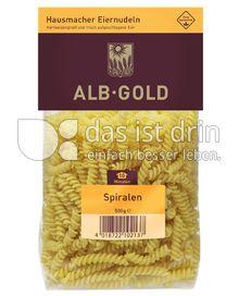 Produktabbildung: ALB-GOLD Hausmacher Eiernudeln Spiralen 500 g