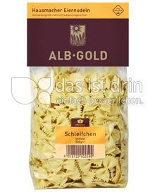 Produktabbildung: ALB-GOLD Hausmacher Eiernudeln Schleifchen 500 g