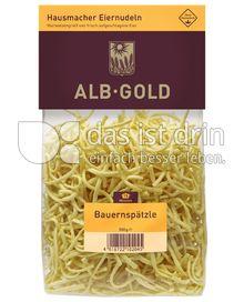 Produktabbildung: ALB-GOLD Hausmacher Eiernudeln Bauernspätzle 500 g