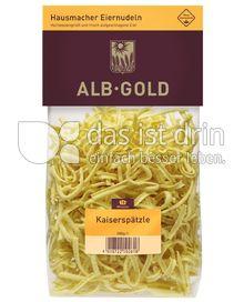 Produktabbildung: ALB-GOLD Hausmacher Eiernudeln Kaiserspätzle 500 g