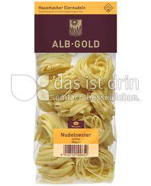 Produktabbildung: ALB-GOLD Hausmacher Eiernudeln Nudelnester 500 g