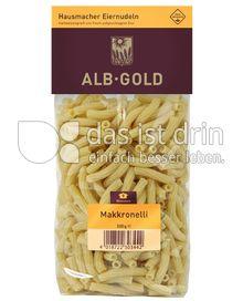 Produktabbildung: ALB-GOLD Hausmacher Eiernudeln Makronelli 500 g