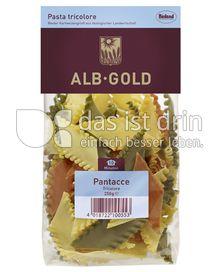 Produktabbildung: ALB-GOLD Bio Pasta Pantacce Tricolore 250 g