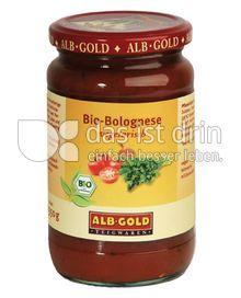 Produktabbildung: ALB-GOLD Bio Bolognese 350 g