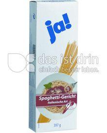 Produktabbildung: Ja! Spaghetti-Gericht 397 g