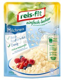Produktabbildung: reis-fit einfach lecker Milchreis 250 g