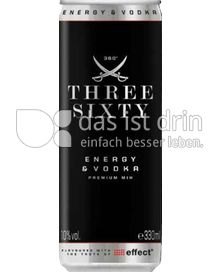 Produktabbildung: Three Sixty Vodka Vodka & Energy 0,33 l