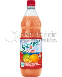 Produktabbildung: Glashäger Vital Orange-Guave 1 l