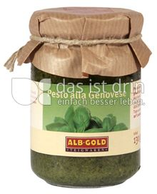 Produktabbildung: ALB-GOLD Pesto alla Genovese 130 g