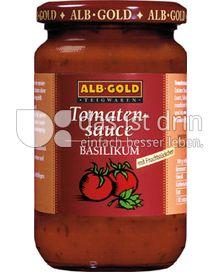 Produktabbildung: ALB-GOLD Tomatensauce Basilikum 350 g