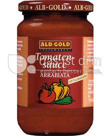 Produktabbildung: ALB-GOLD Tomatensauce Arrabiata 350 g