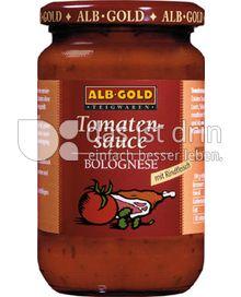 Produktabbildung: ALB-GOLD Tomatensauce Bolognese 350 g