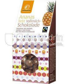 Produktabbildung: Landgarten Ananas Vollmilch 90 g