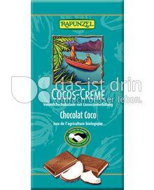 Produktabbildung: Rapunzel Cocos-Creme Vollmilchschokolade