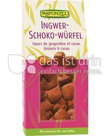 Produktabbildung: Rapunzel Ingwer-Schoko-Würfel