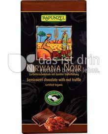 Produktabbildung: Rapunzel Nirwana Noir Zartbitterschokolade 100 g