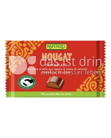 Produktabbildung: Rapunzel Nougat Schokolade