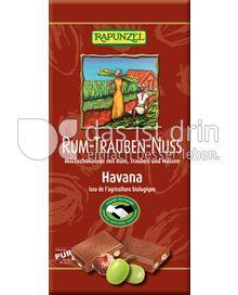 Produktabbildung: Rapunzel Rum-Trauben-Nuss Milchschokolade