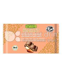 Produktabbildung: Rapunzel Krokant Vollmilchschokolade