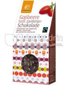 Produktabbildung: Landgarten Gojibeere Zartbitter 90 g