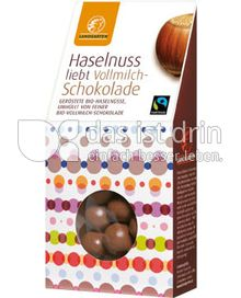 Produktabbildung: Landgarten Haselnuss Vollmilch 90 g
