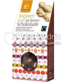 Produktabbildung: Landgarten Ingwer Zartbitter 110 g
