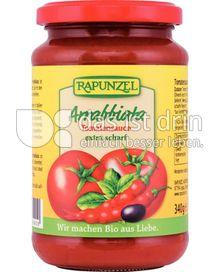 Produktabbildung: Rapunzel Arrabiata Tomatensauce 340 g