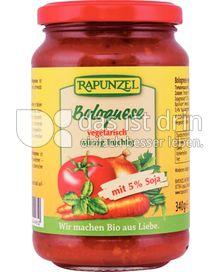 Produktabbildung: Rapunzel Bolognese 340 g