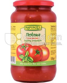 Produktabbildung: Rapunzel Toskana Tomatensauce 550 g