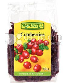 Produktabbildung: Rapunzel Cranberries 100 g