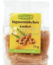 Produktabbildung: Rapunzel Ingwerstäbchen 75 g