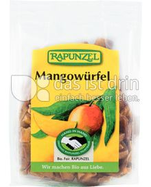 Produktabbildung: Rapunzel Mangowürfel