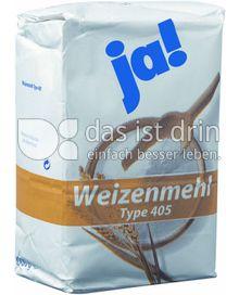 Produktabbildung: Ja! Weizenmehl Typ 405 1000 g