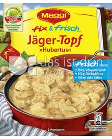 Produktabbildung: Maggi fix & frisch Jägertopf »Hubertus« 30 g