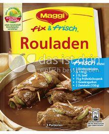 Produktabbildung: Maggi fix & frisch Rouladen 34 g