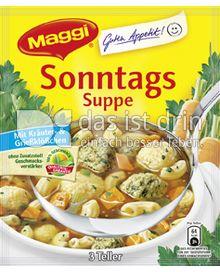 Produktabbildung: Maggi Guten Appetit Sonntags Suppe 59 g