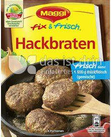 Produktabbildung: Maggi fix & frisch Hackbraten 92 g