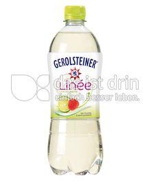 Produktabbildung: Gerolsteiner Linée Litschi-Limette 0,75 l