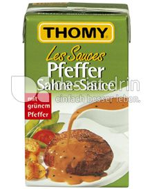 Produktabbildung: Thomy Les Sauces Pfeffer Sahne-Sauce 250 ml