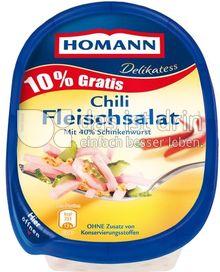 Produktabbildung: Homann Delikatess Chili Fleischsalat 200 g