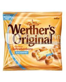 Produktabbildung: Werther´s Original Sahnebonbons zuckerfrei