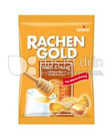 Produktabbildung: Storck Rachengold Milch & Honig
