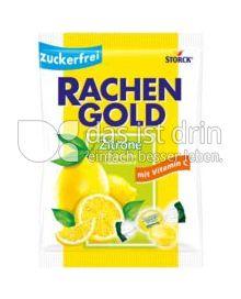Produktabbildung: Storck Rachengold Zitrone zuckerfrei