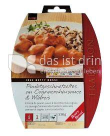 Produktabbildung: Betty Bossi Pouletgeschnetzeltes an Rahmsauce mit Spätzli 350 g