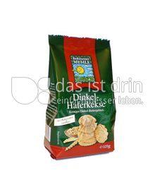Produktabbildung: Bohlsener Mühle Dinkel-Haferkekse 125 g